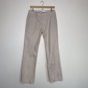 Bonobos Sz 32x32 Khaki Straight Fit Chino Pants
